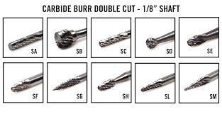 "40 Series 1/8"" Solid Carbide"