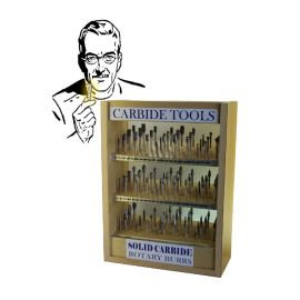 Carbide Burr Display Case