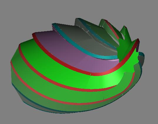 E Series Oval Shape Egg