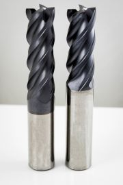 4 Flute Variable End Mills for Steel and Cast Iron